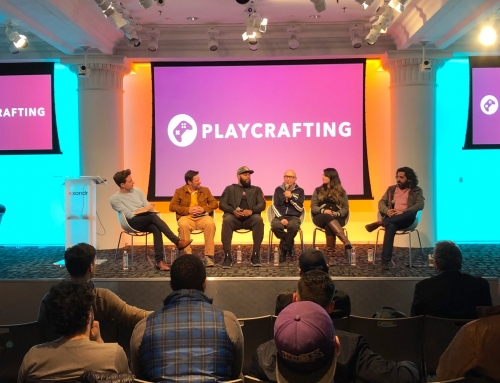 """Playcrafting """"Getting Noticed"""" Panel"""